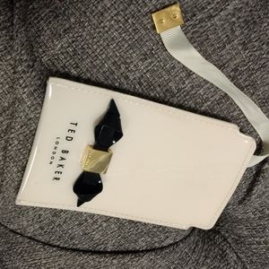 Ted Baker cream colored card holder